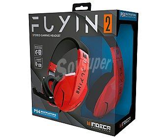 Indeca Casos gaming con micrófono articulado, compatible con Switch y Ps4 New Fuyin 2.0 indeca