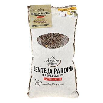 De nuestra tierra Lenteja pardina de León - De Nuestra Tierra 1 kg