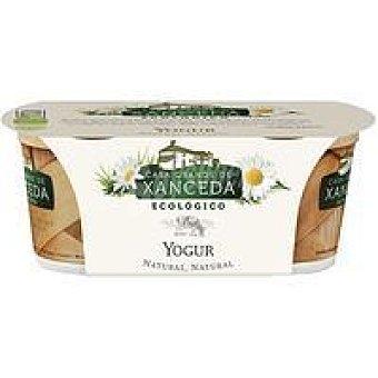 C. G. xanceda Yogur natural cremoso ecológico Pack 2 x 125 g