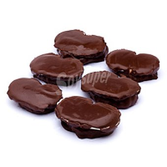 Borja Yon Palmera rellena sabor nata-chocolate Caja 350 g