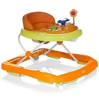INNOVACIONES MS 413 andador con sonido, luz y actividades en color naranja y verde +6 meses