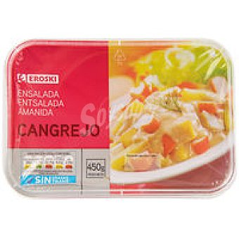 Eroski Ensalada de cangrejo Tarrina 450 g
