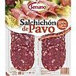 Salchichón de pavo Bandeja 100 g Carnicas Serrano