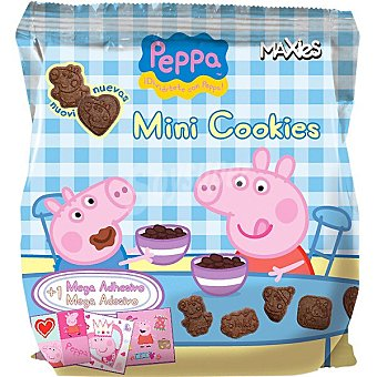 Maxies Peppa Pig mini cookies paquete 210 g paquete 210 g