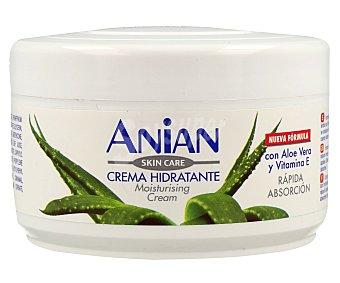 Anian Crema corporal hidratante, con aloe vera y vitamina E, de rápida abosción 200 ml