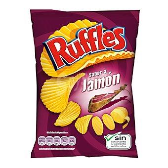 Ruffles Patatas sabor jamón 100 g