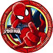 Plato decorado redondo 18 cm paquete 8 unidades Paquete 8 unidades Spiderman