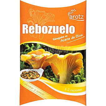 Arotz Rebozuelos rehogados en aceite de oliva calentar y servir Envase 100 g