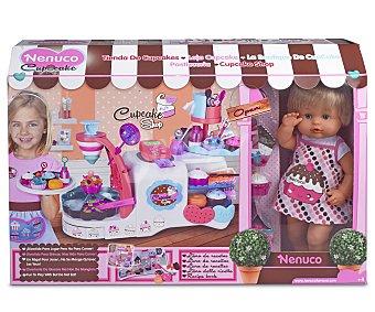 Nenuco Tienda de Cupcakes con Accesorios y 1 Muñeco 1 Unidad