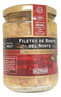 Hacendado Bonito norte aceite oliva filete Tarro 400 g escurrido