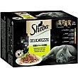 Delicatezze de gelatina de aves para gato Pack 12 x 85 g Sheba