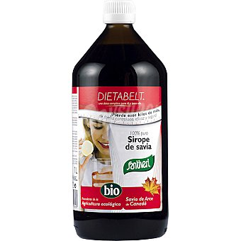 SANTIVERI Dietabel Sirope savia biológico Botella 1 l