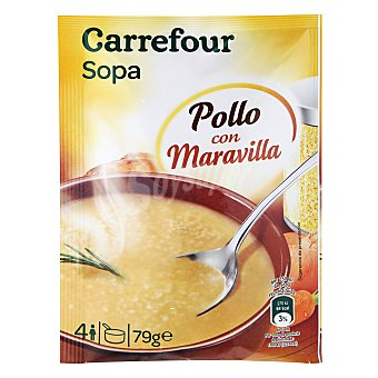 Carrefour Sopa pollo con maravilla 79 g
