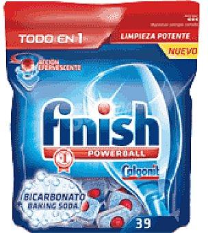 FINISH CALGONIT Lavavajillas maquina todo en 1 bicarbonato 39 pastillas