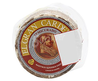 Gran Cardenal Queso mezcla semicurado curado 880 gramos aproximados