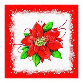 CM 20 Servilletas desechables 33x33 3 capas decorado Navidad 20 ud