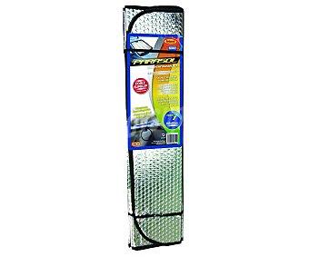 Rolmovil Parasol aluminizado plegable con cortina térmica reflectora y medida de 145x60 centímetros 1 unidad