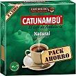 Café natural molido paquete 500 g 2x250g Catunambu