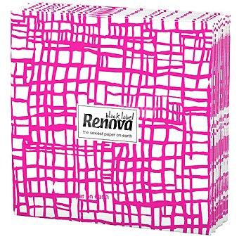 Renova Servilletas Black Label abstracta rosa paquete 12 unidades Paquete 12 unidades