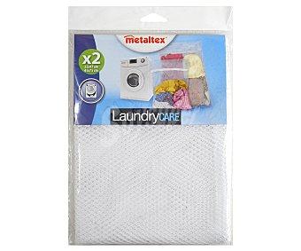 Metaltex Redes de nylon para proteger ropa o calzado en la lavadora, modelo Lingette 2 unidades
