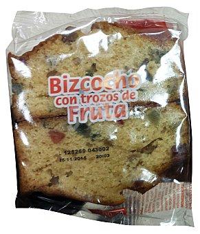 Hacendado Surtido granel bizcocho frutas 2 u - 80 g