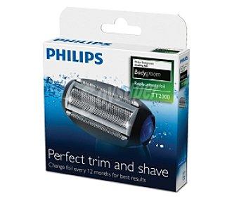 PHILIPS TT2000/43 Cabezal de afeitado de recambio philips bodygroom TT2000/43, válido para afeitadoras philips desde TT2021 a TT2030