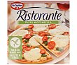 Pizza sin gluten, con salsa de tomate, mozzarella y albahaca 370 g Ristorante Dr. Oetker