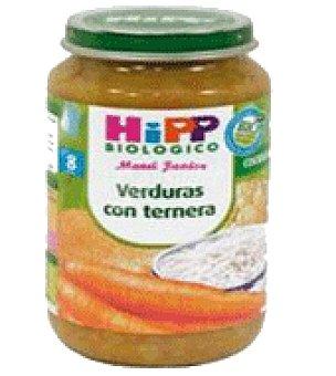 HiPP Biológico Tarritos verduras con ternera 250 g