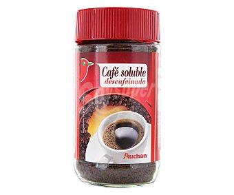 Auchan Café descafeinado soluble 100 gramos