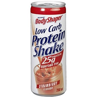 WEIDER BODY SHAPER Low Carb. Protein Shake Batido proteína sabor fresa Envase 250 ml