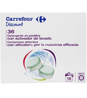 Carrefour Discount Detergente en pastillas 18 lavados