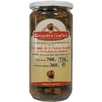Gorbea Caracoles en su jugo Tarro 350 g
