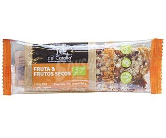 Delicatalia Cereales en barrita de fruta y frutos secos Bio 40 g
