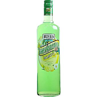 Rives licor concentrado mojito de zumo de limón sin alcohol botella 1 l