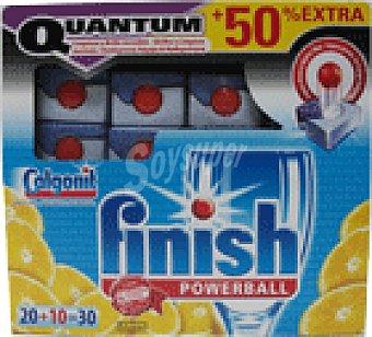 FINISH CALGONIT Pastillas quantum limon 20 UNI