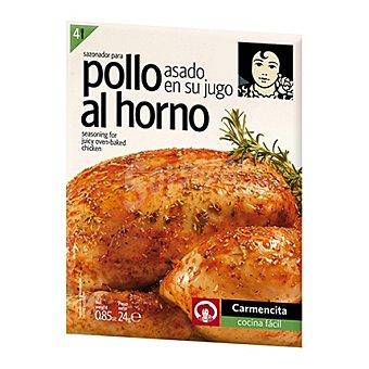 Carmencita Sazonador de pollo al horno 24 g