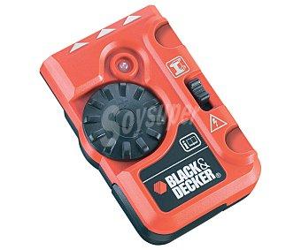 Black&Decker Detector de tubos de metal y cables, con calibrado manual y detección de metal y cables vivos de hasta 50 milímetros. Alimetación a pilas 1 unidad.