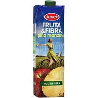 Juver Fruta-fibra-piña-manzana Brik 1 litro
