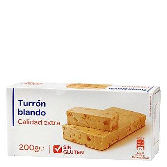 Carrefour Turrón blando sin gluten 200 g