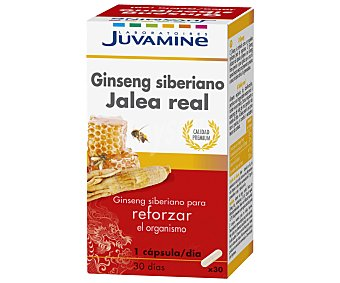 Juvamine Ginseng con Jalea Real 30 capsulas