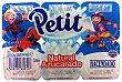 Petit natural azucarado Pack 6 x 60 g - 360 g Hacendado