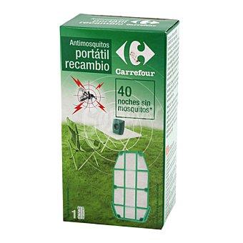 Carrefour Insecticida antimosquitos recambio portátil 1 ud