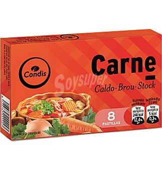 Condis Caldo carne 8 pas 85 GRS