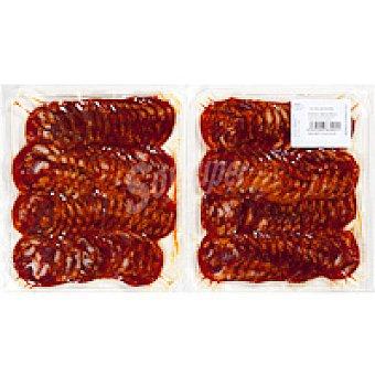V. Alagón Chorizo ibérico Pack 2x250 g