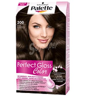 Palette Tinte Perfect Gloss Color 200 Negro Espresso 1 ud