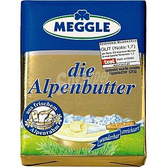 Meggle Mantequilla alemana Die Alpenbutter envase 125 g