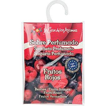 Flor de Mayo Home Fragance ambientador concentrado Frutos Rojos sachet 1 unidad 1 unidad