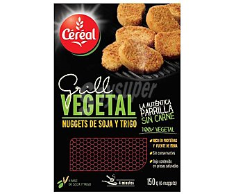Gerblé Veggie Nuggets 100% vegetal sin carne Bandeja 150 g