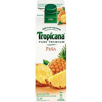Tropicana Pure Premium Zumo de piña Envase 1 l