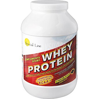 Special Line Sabor chocolate Whey Protein Bote 900 g
